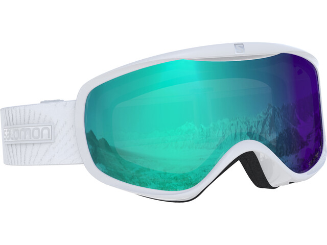 Salomon Sense Photo - Gafas de esquí Mujer - blanco